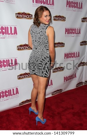 "Maitland Ward at the ""Priscilla Queen of the Desert"" Los Angeles Premiere, Pantages, Hollywood, CA 05-29-13"