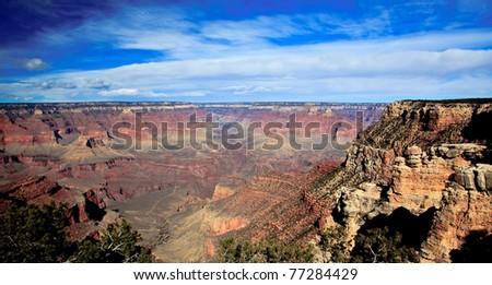 Majestic Grand Canyon - stock photo