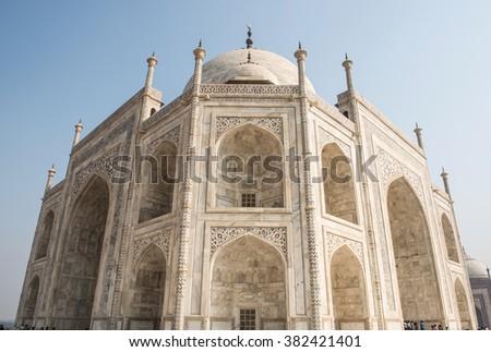 Majestic Historical Edifice - stock photo