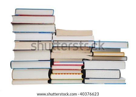 Major books collection - stock photo