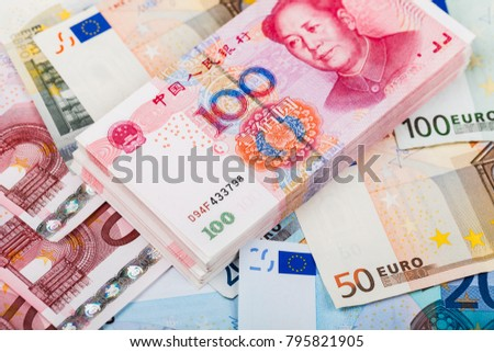 Major currencies in the world