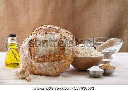 Make Bread - stock photo