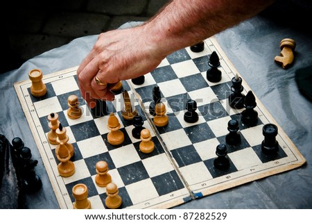 make the move - stock photo