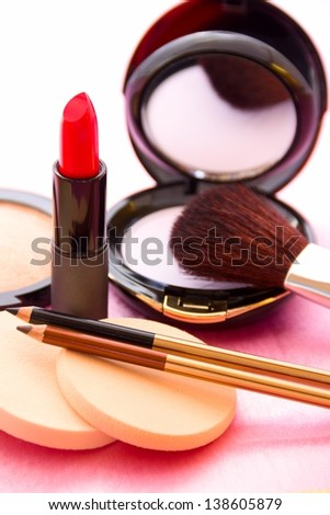 Make-up accessories.
