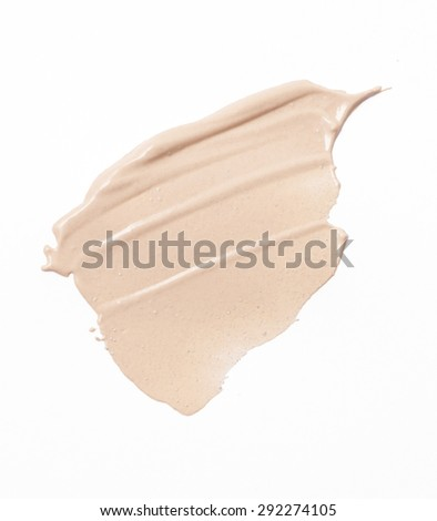 Make up base paint on background - stock photo