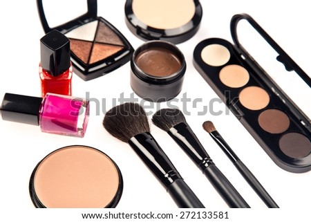 Make-up, Eyeshadow, Cosmetics.