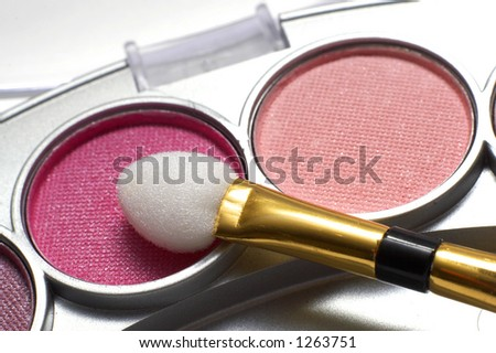 Make-up set - stock photo