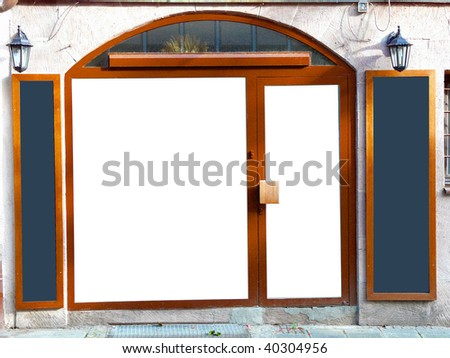 make your own shop - stock photo