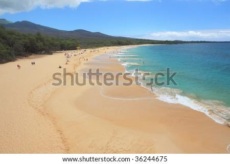 Makena Beach - stock photo