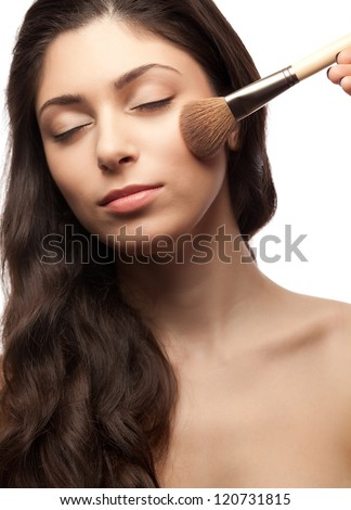 Makeup. - stock photo