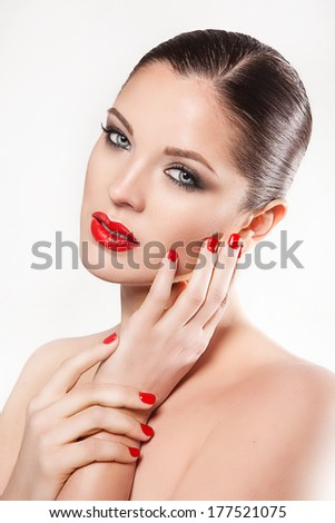 makeup beauty shot