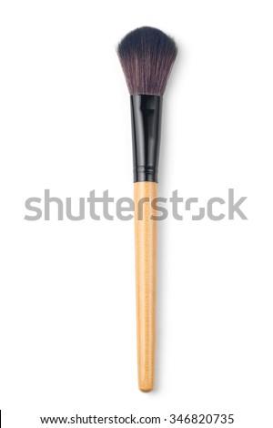 makeup brush Blush - stock photo