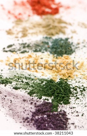 Makeup Colors - stock photo