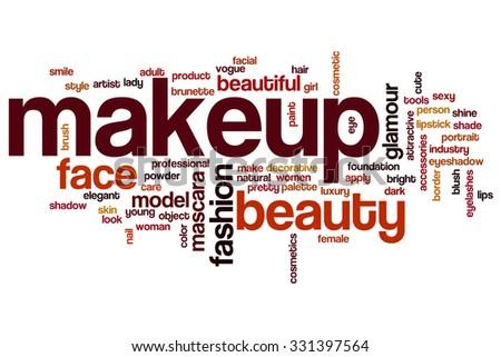 Makeup Word Cloud