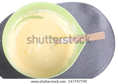 Making a cake - stock photo