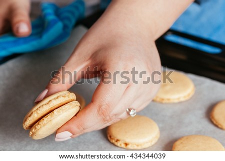 Making Macarons In The Kitchen