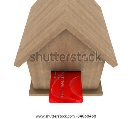 making money in real estate - stock photo