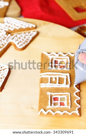 Unique Gingerbread House Wall Decoration Picture Collection - Wall ...