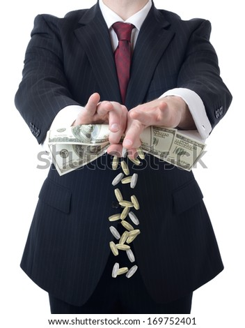 Making the most of your money - stock photo