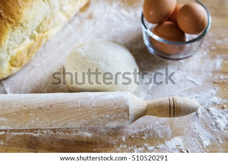 Making Traditional  bread
