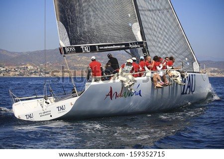 Malaga (Spain) yachts race during april 5 2008