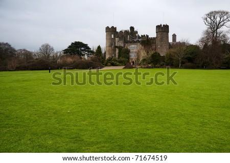 Malahide Castle - stock photo