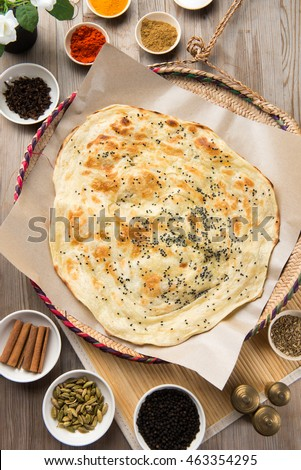 Malawah or Malawach traditional yemeni bread