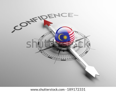 Malaysia High Resolution Confidence Concept