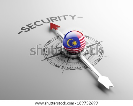 Malaysia High Resolution Security Concept