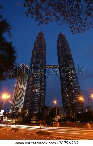 Malaysia Petronas Twin Tower, the tallest building in the world