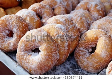 Malaysian donuts - stock photo