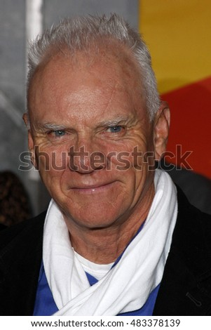 "Malcolm McDowell at the World premiere of ""Bolt"" held at the El Capitan Theater in Hollywood, USA on November 17, 2008."