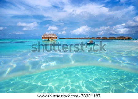 Maldives - stock photo