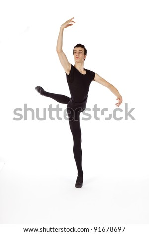 male ballet dancer