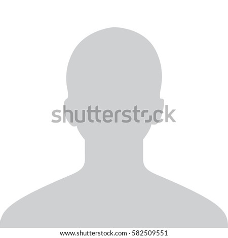 Male Default Placeholder Avatar Profile Gray Picture Isolated on White Background For Your Design