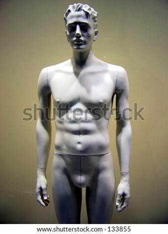 Male dummy - stock photo