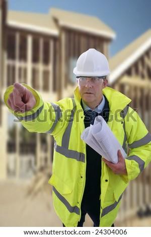Male Engineer - stock photo