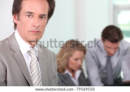 Male executive - stock photo