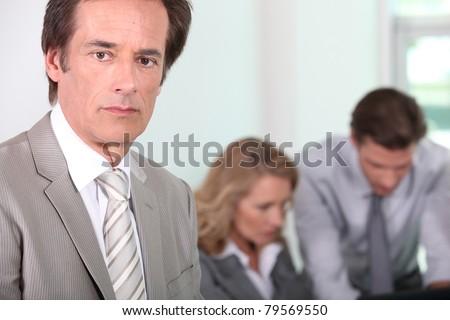 Male executive - stock photo