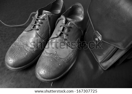 Male fashion with shoes