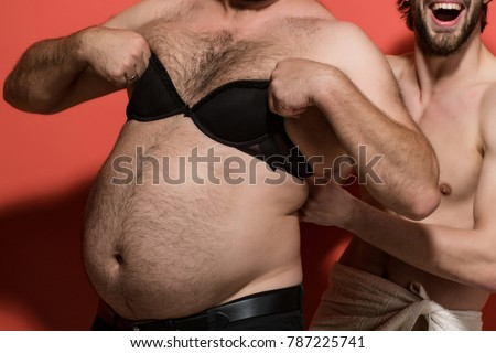 Fat hairy gay guys