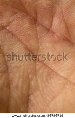 male hand close up showing just his skin - stock photo