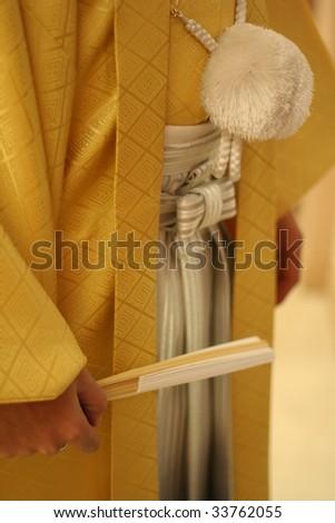 male kimono - stock photo