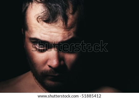 male, men, human, eye, portrait, person, adult, one