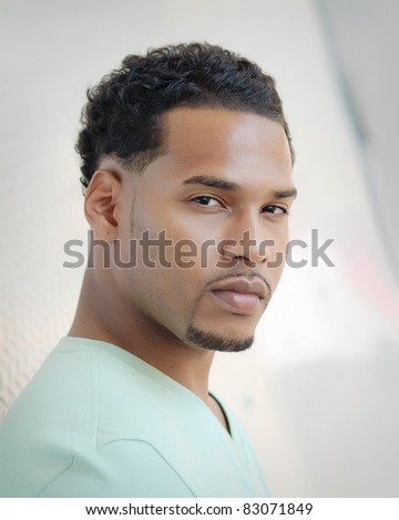 Male model - stock photo