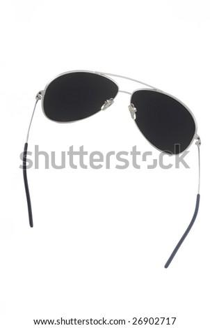 male sunglasses isolated 6 - stock photo