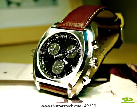 Male watches - stock photo
