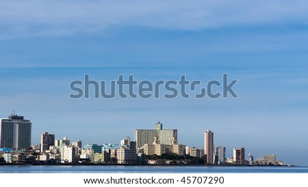 Malecon, Havana, Cuba. - stock photo