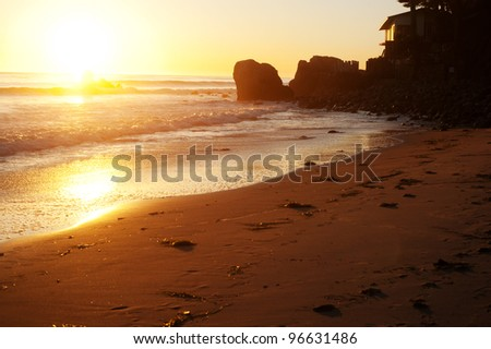 Malibu Beach - stock photo