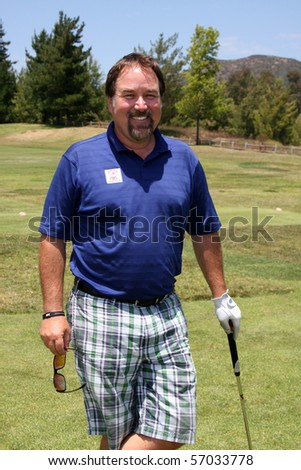 MALIBU, CA - JULY 10: Richard Karn at the 2010 Women In Film Annual Golf Tournament at Malibu Country Club on July 10, 2010 Malibu, CA